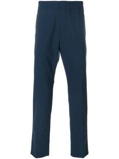 брюки прямого кроя MSGM