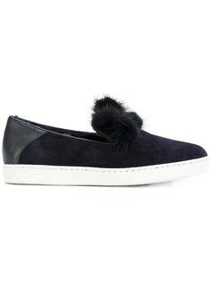 pompom slip-on sneakers Unützer