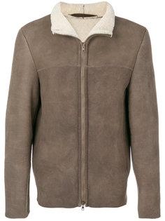 куртка из овчины на молнии Salvatore Santoro