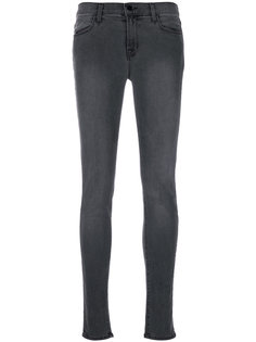 выцветшие джинсы скинни  J Brand