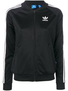 свитер на молнии с логотипом  Adidas Originals