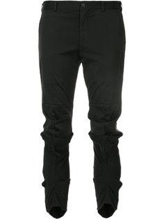 брюки с присборенной отделкой Comme Des Garçons