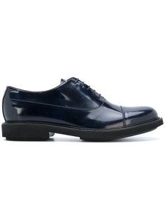 кроссовки на шнуровке Emporio Armani