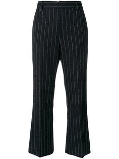 укороченные брюки в полоску Marc Jacobs