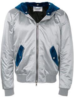 куртка-бомбер с капюшоном Route Des Garden