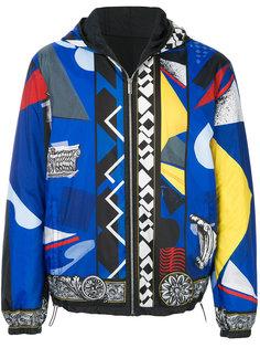 куртка с принтом Versace
