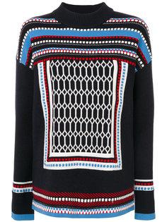 свитер с вышивкой Tory Burch