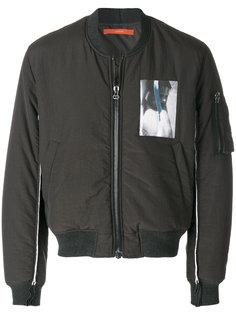 куртка бомбер на молнии Komakino