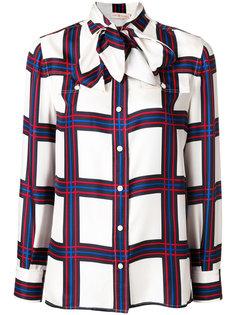 блузка в клетку Tory Burch