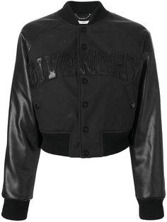 укороченная куртка бомбер Givenchy