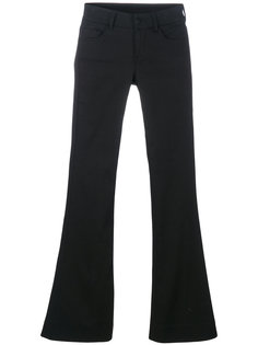 basic flared trousers Andrea Yaaqov