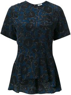 блузка с цветочным принтом  Kenzo