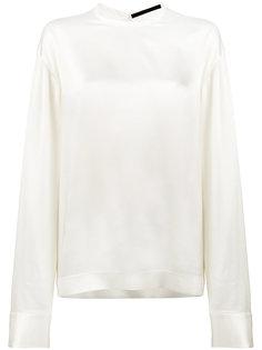 блузка с круглым вырезом  Haider Ackermann
