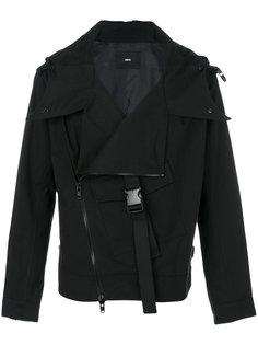 куртка со смещенной застежкой-молнией D.Gnak