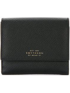 logo stamp wallet Smythson