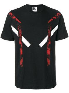 футболка с абстрактным принтом Les Hommes Urban