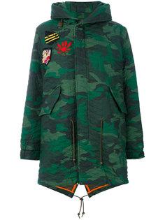 пальто в стиле милитари  Mr & Mrs Italy
