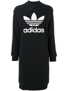 платье с трилистником  Adidas Originals