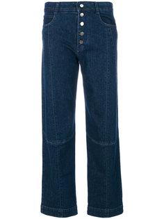 прямые укороченные джинсы  Stella McCartney