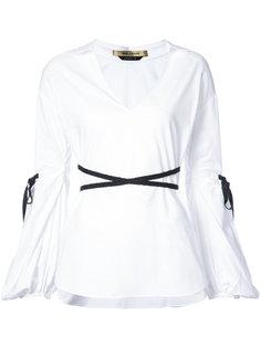 Iris open collar shirt Hellessy