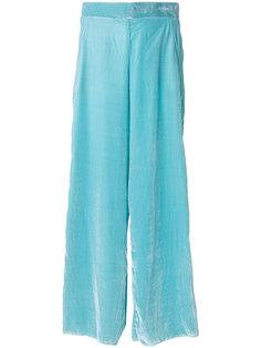 широкие брюки с драпировкой  Aviù