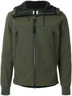 куртка с капюшоном и карманами на молнии CP Company