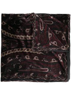 бархатный шарф Etro