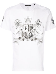 футболка с графическим принтом Billionaire