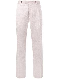 прямые брюки с люрексом  Jour/Né