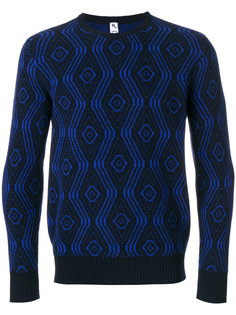 свитер с геометрическим узором Doppiaa