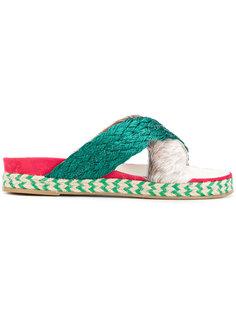 cross-over sandals  Mr & Mrs Italy