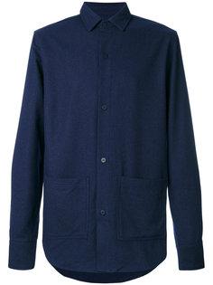 приталенная джинсовая рубашка Han Kjøbenhavn