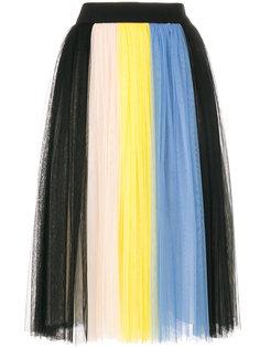 плиссированная юбка  Fausto Puglisi