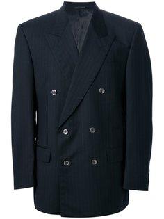 свободный пиджак в полоску Pierre Cardin Vintage