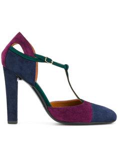 colour-block pumps Michel Vivien
