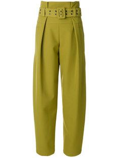 широкие брюки с завышенной талией  Emilio Pucci