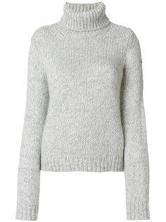 свитер с отворотом  Moncler