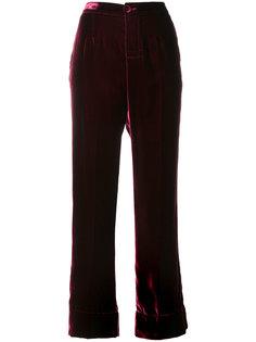 бархатные спортивные брюки F.R.S For Restless Sleepers