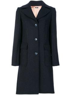 двубортное пальто Jil Sander Navy