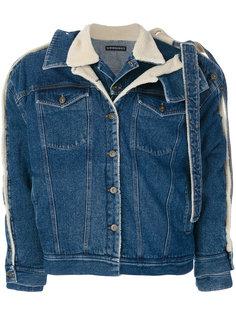 джинсовая куртка с отделкой Y / Project