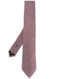 галстук с плетеным узором Armani Collezioni