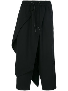 многослойные брюки с эластичным поясом D.Gnak