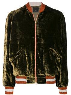 бархатная куртка-бомбер  Roberto Collina