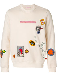patch detail sweatshirt Walter Van Beirendonck
