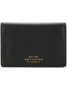 snap button wallet Smythson