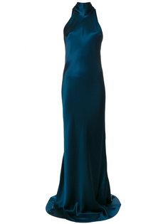 платье с завязкой на горловине  Galvan