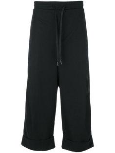 укороченные брюки  с подвернутыми манжетами D.Gnak