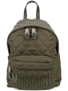маленький стеганый рюкзак Moschino