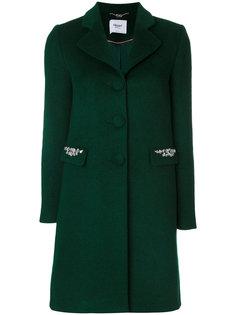пальто с декорированными клапанами Blugirl