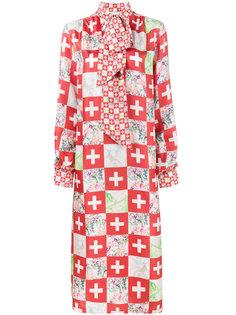 платье с цветочным принтом Swiss Saks Potts